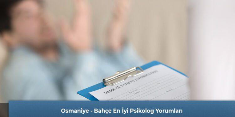 Osmaniye - Bahçe En İyi Psikolog Yorumları