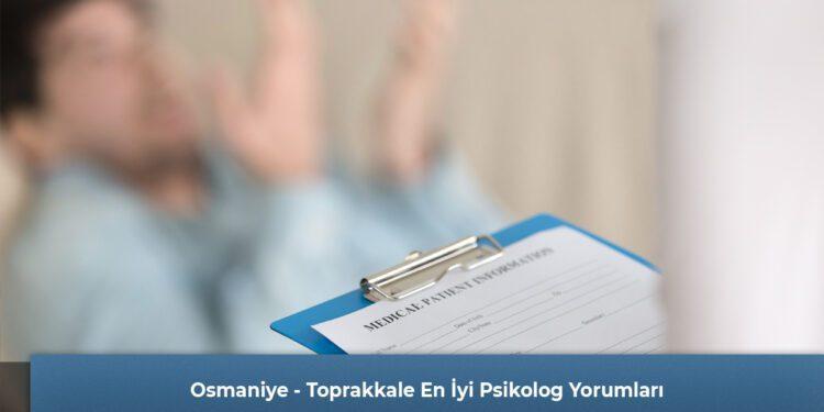 Osmaniye - Toprakkale En İyi Psikolog Yorumları